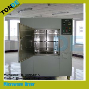Tunnel Stainless Steel Microwave Drying Sterilization Machine pictures & photos