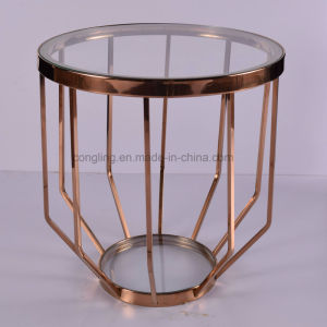 Modern Design Golden Side Table Tea Table Coffee Table