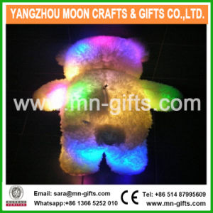 LED Teddy Bear Toy Holding Love Pillow/Plush LED Bear Toys for Sale/Light up Teddy Bear Plush Toy pictures & photos