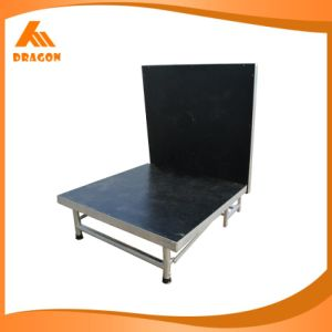 Aluminum Mobile Folding Stage Height: 0.4-0.6m pictures & photos