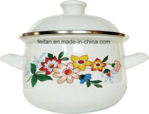 Traditinonal Enamel Heavy Cooking Pot for Daily Use pictures & photos