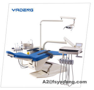 Dental Unit with Fiber Handpiece Tubes Configuration