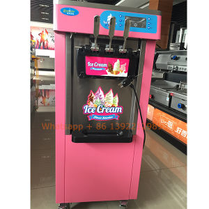 New Floorstand Hot Sale High Quality Cute Soft Ice Cream Frozen Yogurt Machine Made in China pictures & photos