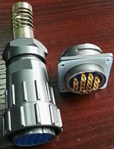 Multipole Water Proof Circular Connector pictures & photos