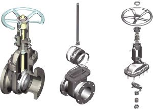 Pn40 Stainless Steel Wcb GS-C25 Material ANSI Standard Gate Valve