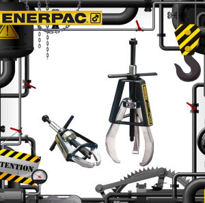 Ep-Series Posi Lock&Reg Mechanical Pullers (Ep-206 Ep-108) Original Enerpac pictures & photos