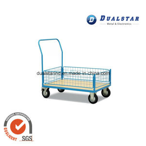 Metal Transport Trolley for Warehouse