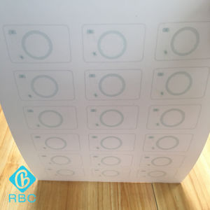 Supply Hybird Dual Chip Prelam PVC Inlays for Card Manufacture pictures & photos