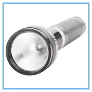 High Quality Aluminum Rechargeable LED Flashlight 3W Power LED Flashlight pictures & photos