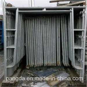 China Safe Q235 Steel H-Frame Scaffold pictures & photos