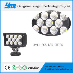 33W Square LED Car Work Light with Waterproof Function pictures & photos