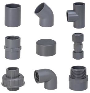 Sch80 CPVC Fittings in Grey Corlor pictures & photos