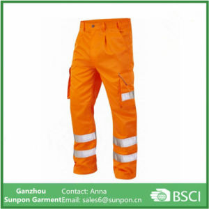 Durable Reflective Safety Workwear Pants pictures & photos