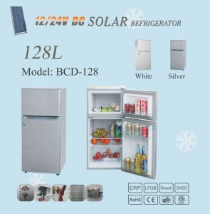 12V/24V 128L DC Solar Power Freezer Refrigerator Home Use pictures & photos
