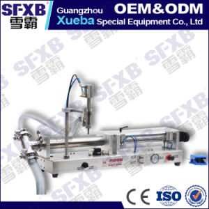 Sfgy-60 Full Pneumatic Semi Automatic Liquid Filling Machine pictures & photos