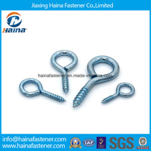 High Quality Stainless Steel/Carbon Steel/ Zinc Plated Eye Hook Screw pictures & photos