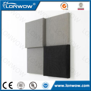 Fireproof Fiber Glass Acoustic Wall Panels with Good Service pictures & photos
