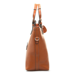 Leather Handbag Female Top Handle Shoulder Bags Fashion Tote Bag pictures & photos