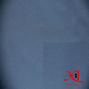 High Stretch Navy Polyester/Spandex Lycra Fabric for Sportswear Pants pictures & photos