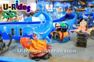 Amusement Marine Partrol Shark water Mini Flume Rides amusement machine pictures & photos