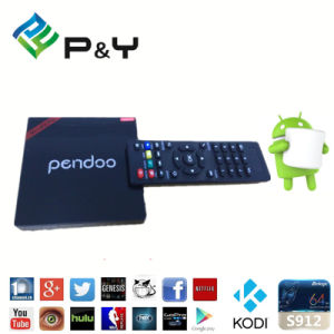 2016 Hot Amlogic S912 Pendoo Minix PRO Kodi 17.0 Android6.0 2GB 16GB Dual Band WiFi TV Box pictures & photos