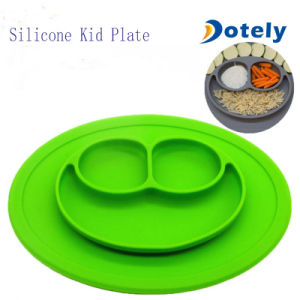 Anti-Slip Silicone Children Place Mat Kid Plate pictures & photos