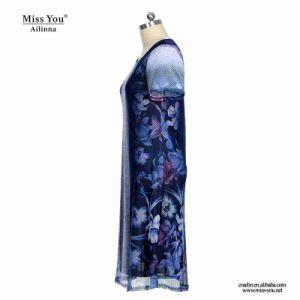 Miss You Ailinna 802078 Low Price Women Mesh Medium Length Dress pictures & photos