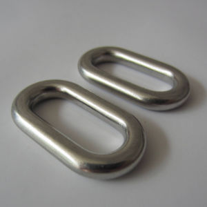 Stainless Steel Oval Ring, Master Link Welded Ring pictures & photos