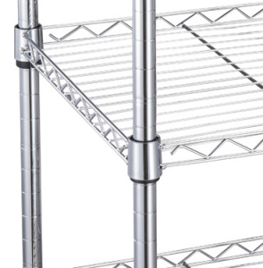 Carbon Steel Chrome Wire Mesh Anti-Static Household Shelving pictures & photos