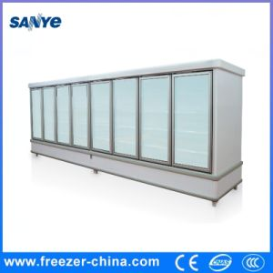 2017 New Style Remote Compressor Multideck Glass Door Fridge with Ce Approved for Supermarket pictures & photos