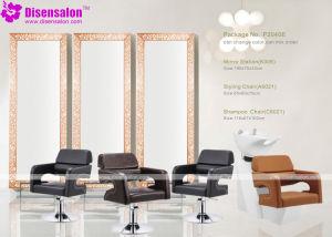 Popular High Quality Salon Furniture Mirror Barber Salon Chair (P2040E)