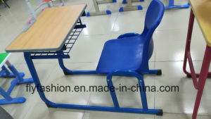 Single Desk with PP Chair Classroom Table Set pictures & photos