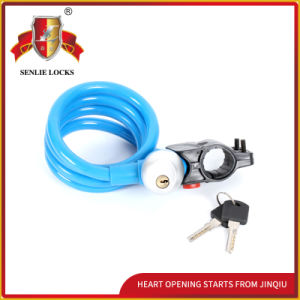 Jq8210-Q Colorful Bicycle Lock Waterproof Lock Steel Cable Lock pictures & photos
