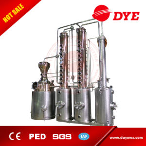 Made in China 1000L Industrial Steam Vacuum Alcohol Distillation Equipment pictures & photos