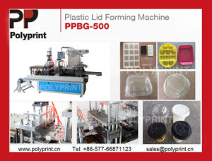 Milk Tea Cup Lid Cover Forming Machine Thermoforming pictures & photos