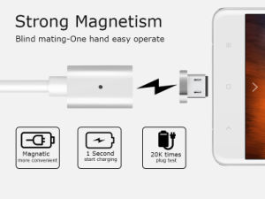 Removable USB Magnetic Cable for iPhone/ Micro USB/ Type-C pictures & photos