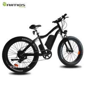 Newly American Design 26inch Electric Bike with Hydraulic Brake pictures & photos