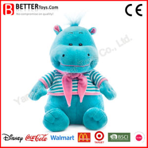 En71 Stuffed Plush Animals Soft Hippo Toy for School Kids/Students pictures & photos