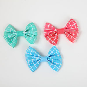 Colorful Grosgrain Ribbon Bow for Gift DIY Decoration pictures & photos