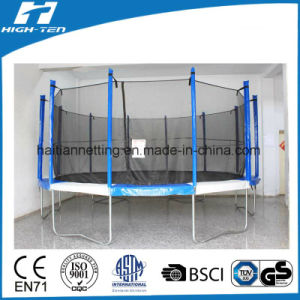 Colourful Trampoline with Enclosure for Kids and Adults pictures & photos