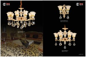 Aoqi Die Casting Zinc Alloy Crystal Chandelier Light pictures & photos