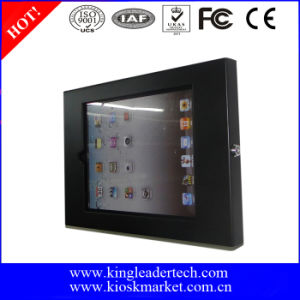 Wall Mounted iPad Stand with Lockable Enclosure