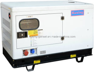 10 kVA Silent Water Cooling Electric Diesel Generator with ATM pictures & photos