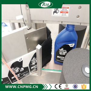 Double Sides Ashesive Labeling Machine for Flat Bottle pictures & photos