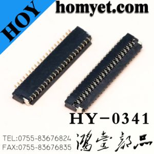 0.3mm Pitch 41pin FPC/FFC Connector (HY-0341) pictures & photos