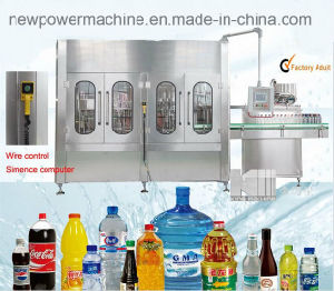Cgf Mineral Drinking Water Juice Filling Packing Machine Manufacturer pictures & photos