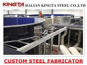 Hot DIP Galvanized Steel Structure Frame OEM