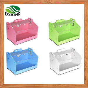 Acrylic Colorful Cute Hamster Hedgehog DIY House with Decorations pictures & photos