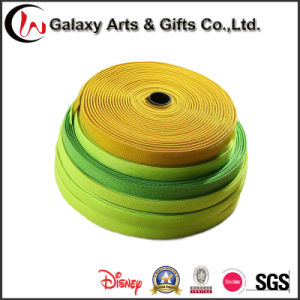 Custom Design Wholesale Polyester Elastic Ribbon pictures & photos