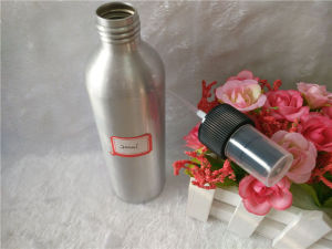 200ml Cosmetic Aluminum Bottle with Lotion and Spray Pump pictures & photos